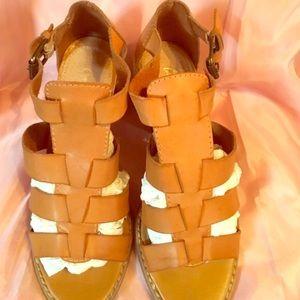 Multi Strapped heeled sandal